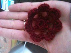 Exemple fleur au crochet 1