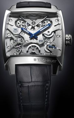 A really nice TagHeuer - but maybe a bit pricey? ;-) I think it is about $80000