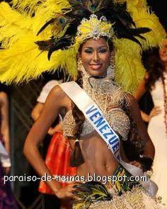 Traje inspirado en los indigenas - Vanessa Peretti para el Miss internacional...