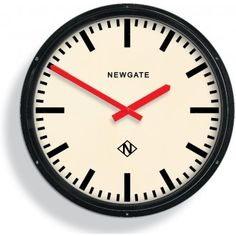 Newgate Wall Clock   Metropolitan Black   Buy Large Clocks   Vintage, Retro, Designer Clocks   Wall and Alarm Clocks Online UK   Bloomsbury Store ($200-500) - Svpply