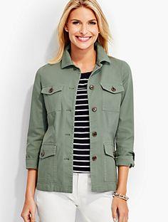 2cd4adee2e1 Lace-Up Back Safari Jacket Safari Outfit Women