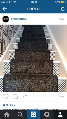 Bespoke Stair runner Staircase carpet