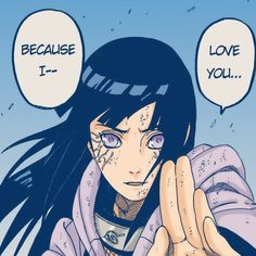 Hinata confessing like a BOSS-- seriously now that's how you tell someone you love them, right when you're proving it by literally throwing your life on the line to save theirs