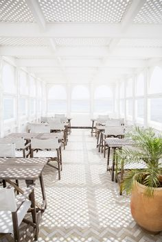 The rooftop lounge at Nord-Pinus, Tangier