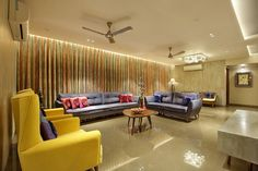 wood art house- the living space is designed to give it a luxurious feel to apartment building