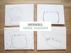 milowcostblog: imprimible: sobres navideños