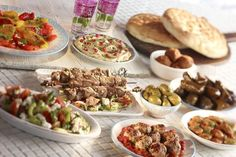 Mezze Dining for 4 or 6 @ Yamal Alsham, Knightsbridge Vegetable Samosa, Vegetable Curry, Turkish Mezze, Lemon Garlic Chicken, Indian Food Recipes, Ethnic Recipes, Eastern Cuisine, Tasting Menu, Exotic Food