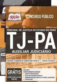 Apostila Tj Pa 2020 Pdf Auxiliar Judiciario Judiciario