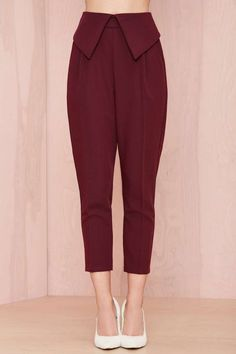 Nasty Gal Fold Ya So Trouser - Pants | Bottoms | Clothes | All