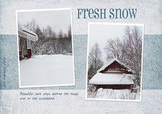 Fresh Snow by Eijaite.deviantart.com on @DeviantArt