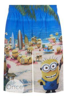 PRIMARK-Mens-MINIONS-at-the-Beach-Swim-Shorts-Swimwear