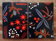 Christmas Illustration for the Barbican's Membership Package