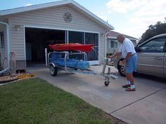 kayak trailer | Custom Trailers - B & S Trailer Manufacturing