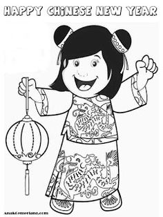 95 Delightful Mewarnai Images Coloring Pages New Year Coloring