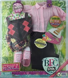 Pretty Preppy Fashion. This clothing set is designed for BFC Ink Dolls only.   eBay!