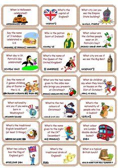 Cards Culture set 1