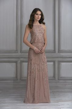 Jacquelin Bridals Canada - 40119 - Bridesmaids - Gorgeously beaded 81931c24d