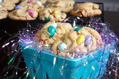 Pretzel and Peanut Butter M Cookies