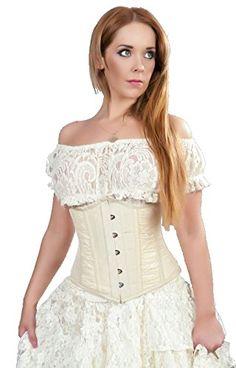 Burleska Women's Gypsy Peasant Underbust Corset Top (XXL, Cream Lace) Burleska http://www.amazon.com/dp/B00PE3EZO0/ref=cm_sw_r_pi_dp_JXdZub0M8SKTA