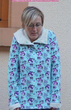 Schnittmuster / Ebook lillesol women No.13 Winterkombi Kleid & Shirt / Nähen Kleid / Sewing pattern winter dress & shirt