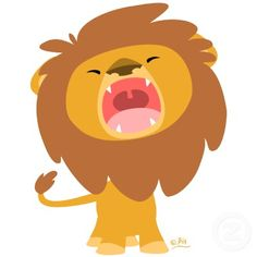 Shop Cute Cartoon Roaring Lion Coasters Created By Lioness Graphics