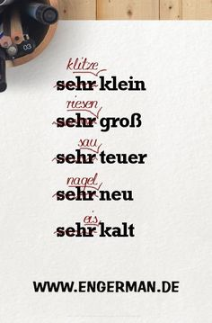 Study German, Learn German, Learn French, German Language Learning, Language Study, Dual Language, German Grammar, German Words, The Words