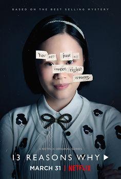 13 Reasons Why character poster from season 1. Michele Selene Ang as Courtney Crimsen. Photo: #Netflix #13ReasonsWhy #ybinge #iNickR #BingeWorthy #BingeWatch