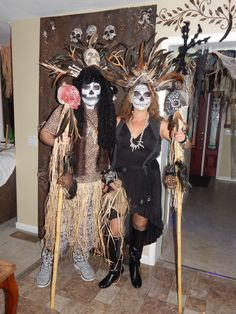 Our homemade witch doctor costumes for this Halloween! & Witch Doctor and Voodoo Doll - Halloween Costume Contest at Costume ...
