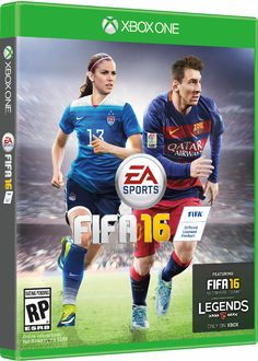 Alex Morgan to Appear on Cover of FIFA16 - U.S. Soccer
