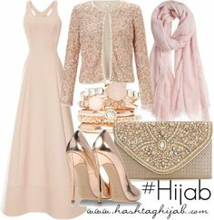 Hashtag Hijab Outfit Beautiful for the opera. Hijab Outfit, Hijab Dress, Dress Outfits, Dresses, Hijab Fashion 2016, Modest Fashion, Fashion Outfits, Islamic Fashion, Muslim Fashion