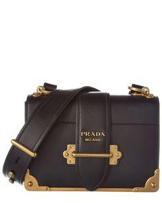 eab1455b99f0 Prada Purses, Prada Handbags, Fashion Handbags, Fashion Shoes, Notebook Bag,  Leather