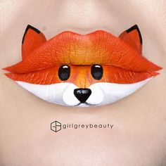 15 Examples of The Most Amazing Lip Art That Will Make You Say WOW. - The Effective Pictures We Offer You About Beauty day A quality picture can tell you many things. Crazy Makeup, Cute Makeup, Makeup Art, Lip Makeup, Prom Makeup, Wedding Makeup, Makeup Brushes, Lip Designs, Makeup Designs
