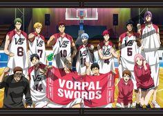 Vorpal Swords ~ From '' Kuroko no Basket (Good gracious!) '' xMagic xNinjax 's board ~
