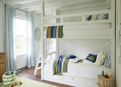 beach cottage bunk room