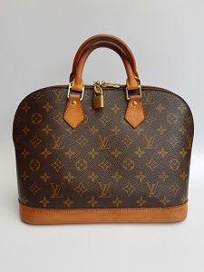 9328b5293b8f LV Bag. LOUIS VUITTON Vintage Alma Brown Monogram Shoulder Handheld Bag.  French Designer Purse