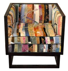 Square Chair Gaudi Collection A One of a Kind by sarapalacios, $2600.00