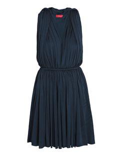 lanvin techno jersey Grecian dress looks retro to me