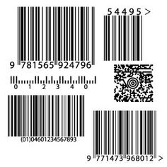 Barcode placeholder for layouts - Free Vector