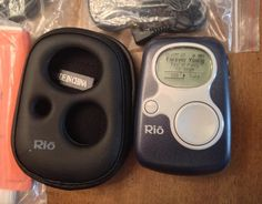 Rio S50 Sonic Blue MP3 Player Bundle - NEW, no box    You MUST have a VERIFIED ADDRESS in order to bid on my auctions. If you are not verified, I will not send items. NO EXCEPTIONS. If you do not send me a verified address within 7 days, I will relist item/s and keep your bids, as per Listia rules.  USA SHIPPING ONLY  Most items will ship within 2-3 business days of receiving verified address. Delivery confirmation number will be included with shipping confirmation.   THANK YOU AND HAPPY ...