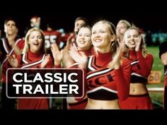 Bring It On (2000) PG-13. 98 minutes. Kirsten Dunst's cheerleading squad is hit with controversy as they battle for the championship.