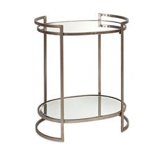 Imax Worldwide 88435 Ancona Mirror Accent Table