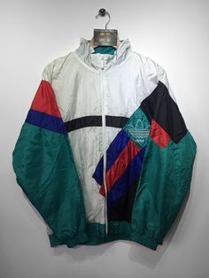 Adidas Shell jacket size Small (but Fits Oversized) £32 Website➡️ www.retroreflex.uk #adidas #trefoil #vintage #oldschool #truevintage