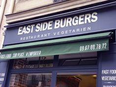 East Side Burgers, 60 bd Voltaire Paris 11, a 100% vegetarian fast food restaurant