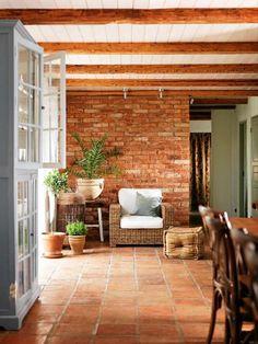 Terracotta , Brick And Wood