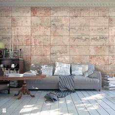 Fototapety, które odmienią każde wnętrze - Salon, styl industrialny - zdjęcie od Decorami