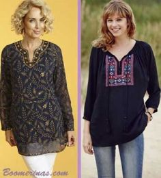 plus size embroidered kurta tunic tops: Photos fifty plus, longtallsally prshots.com