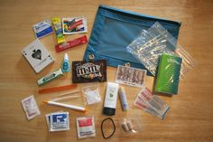 Airplane travel kit contents and reasons to pack those things!
