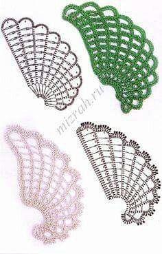 Com Best 11 Crochet leaf – chart / Hoja de ganchillo – diagrama – SkillOfKing. Crochet Leaves, Crochet Motifs, Crochet Diagram, Crochet Chart, Freeform Crochet, Thread Crochet, Crochet Flowers, Crochet Doilies, Crochet Patterns