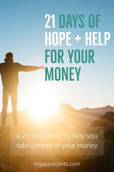 Could your financial situation use a little help? This series of daily posts provides encouragement and action to help you take control of your money.  via @hopeandcents