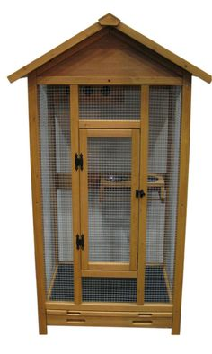 Bird Patio Cage Aviary Wooden Wood OZ Seller With A Shop Front | EBay